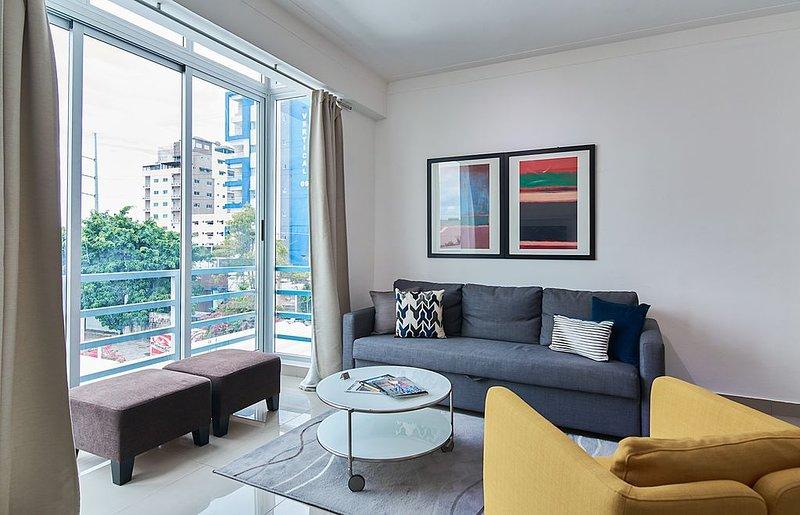 *Cozy, Modern 1 BR*   downtown Sto Domingo, vacation rental in Santo Domingo