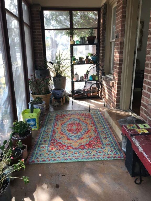 Véranda / salle des plantes
