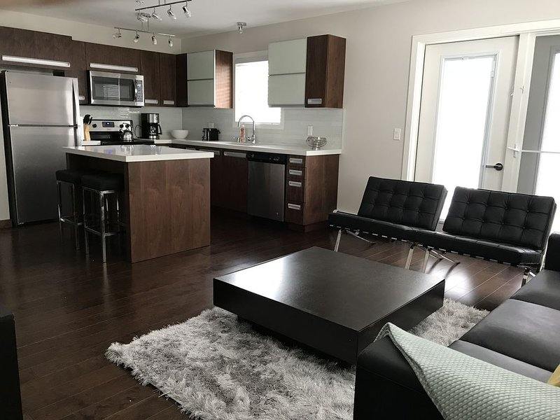 Spacious New Built Comfortable Condo - 2 Bed, 2 Bath, holiday rental in Saskatchewan