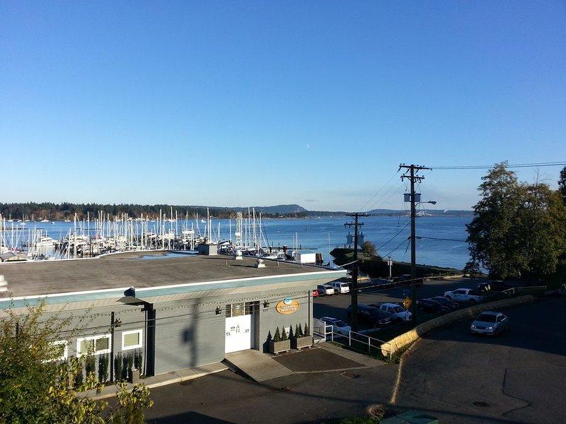 Nanaimo Yacht Club and view