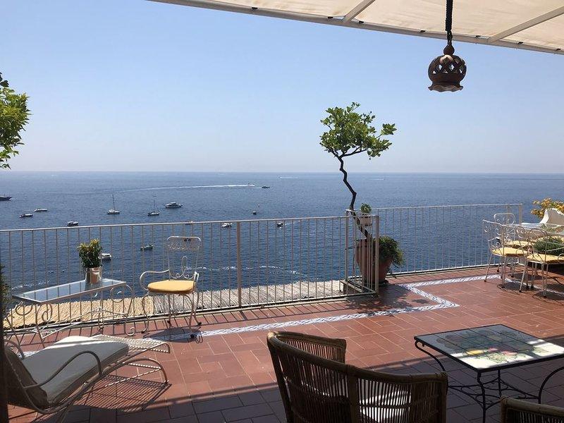 Casa Caldiero - Apartment With Large Terrace, alquiler de vacaciones en Positano