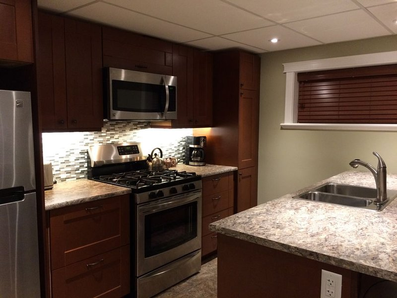 Luxury suite, walk to Hospital, business and restaurant district - Downstairs Su, holiday rental in Prince George