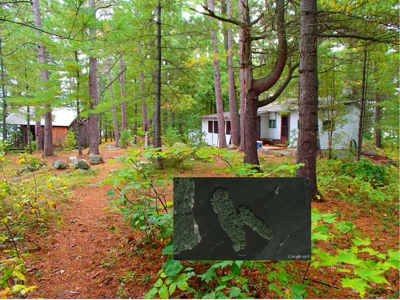 11 Acre Private Island Retreat with 3 Bdrm Cottage and much more..., vacation rental in French River