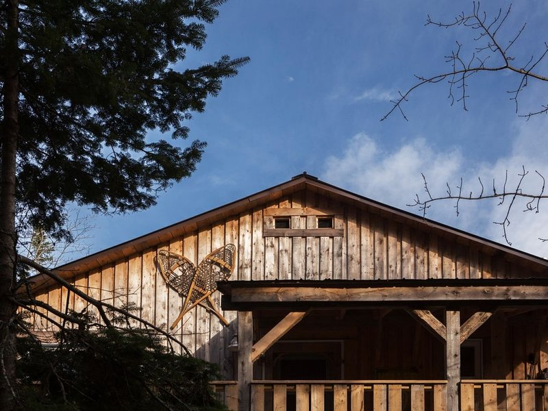 Guesthouse on an Agro-forestry Farm, holiday rental in Gaspesie Region