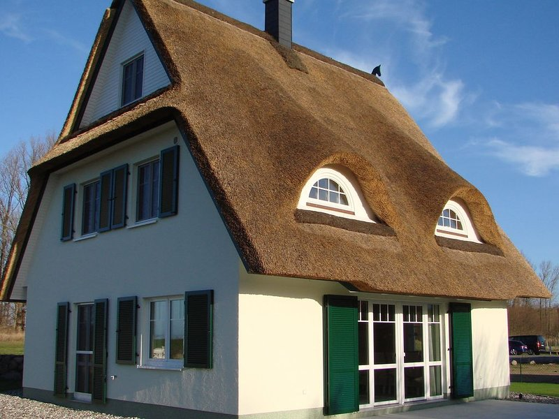 Fairy tale holiday home in Rerik with private terrace, holiday rental in Wendelstorf