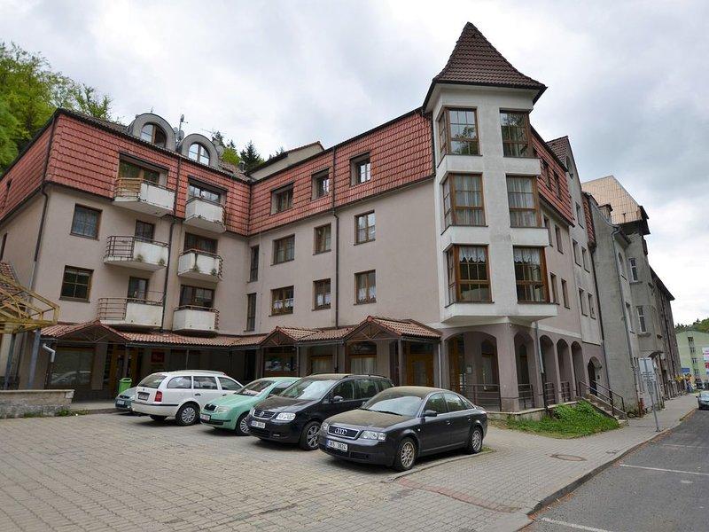 Snug Apartment in Jachymov near Ski area, holiday rental in Jachymov
