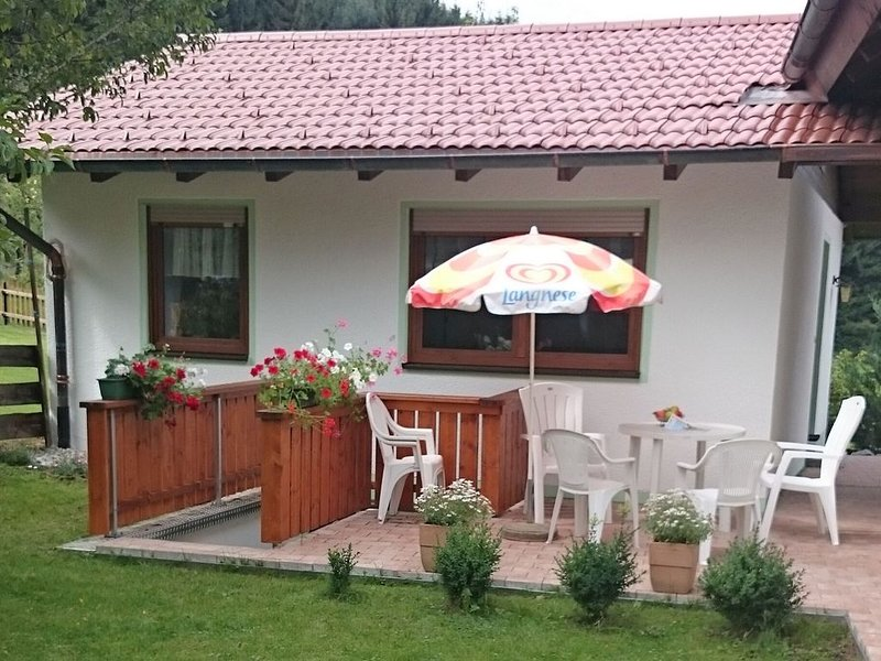 Child-friendly holiday home with private sauna and terrace in the Allgäu region, holiday rental in Bad Worishofen