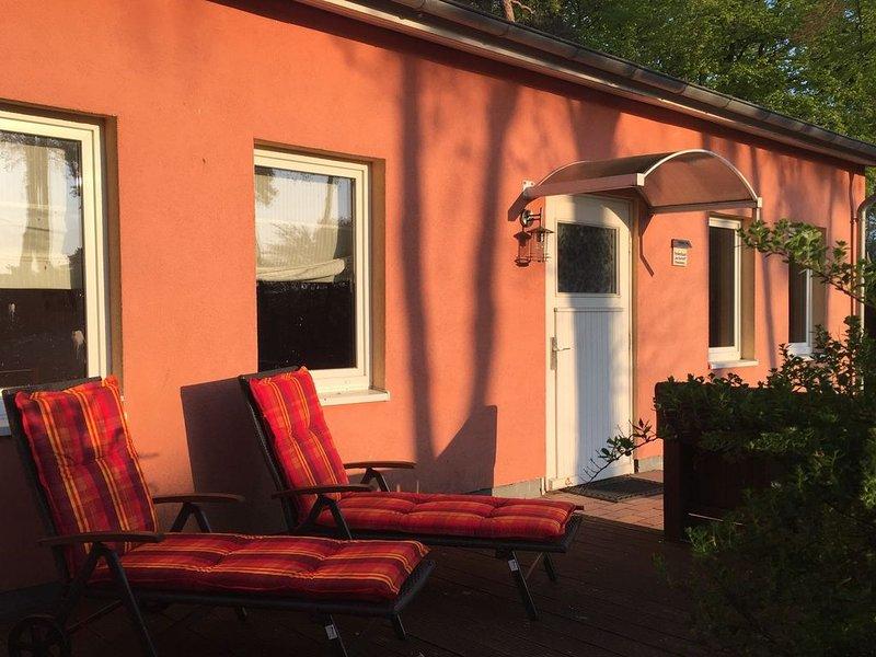 Modern Bungalow in Am Salzhaff with Sauna, holiday rental in Am Salzhaff