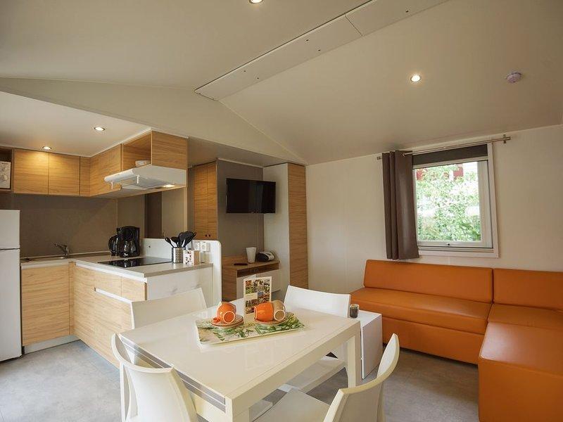 6-Personen-Mobilheim im Ferienpark Landal Rabbit Hill, vacation rental in Kootwijk