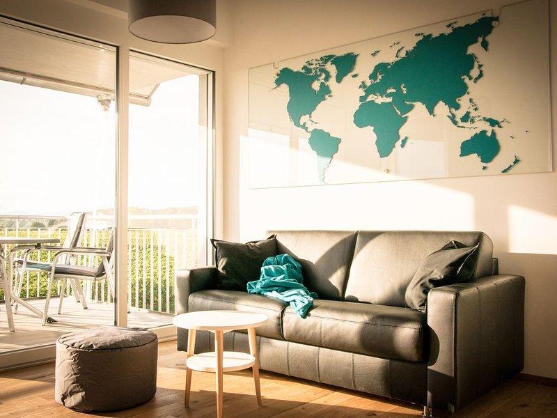Ferienwohnung West-Blick, 58 qm, 1 Schlafzimmer, max. 4 Personen, holiday rental in Vogtsburg im Kaiserstuhl