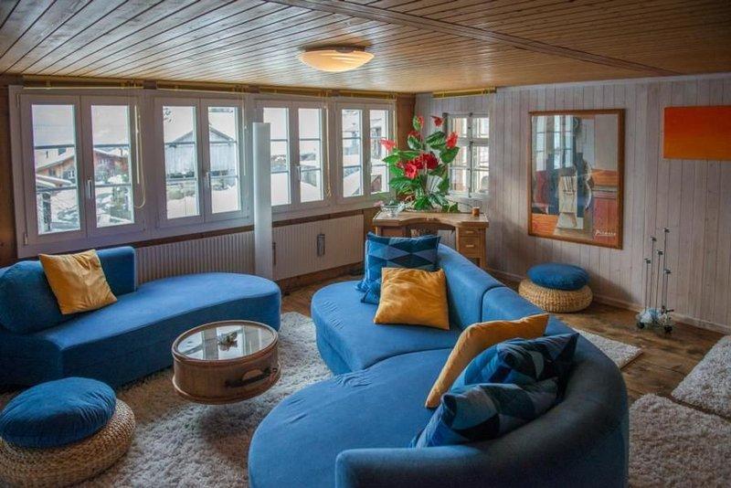 Ferienwohnung Hasliberg Goldern für 4 Personen mit 2 Schlafzimmern - Ferienwohnu, holiday rental in Giswil