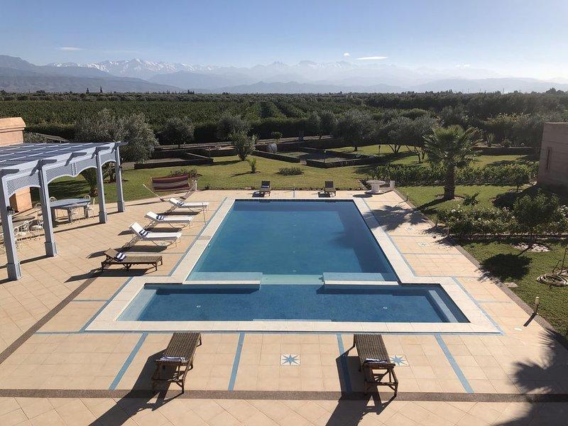 DOMAINE DES ETOILES MARRAKECH - Villa de luxe pour vos événements, holiday rental in Ourika