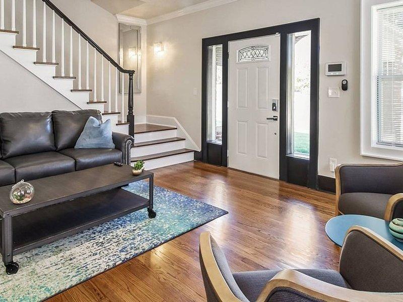 Entrée et escalier au deuxième étage