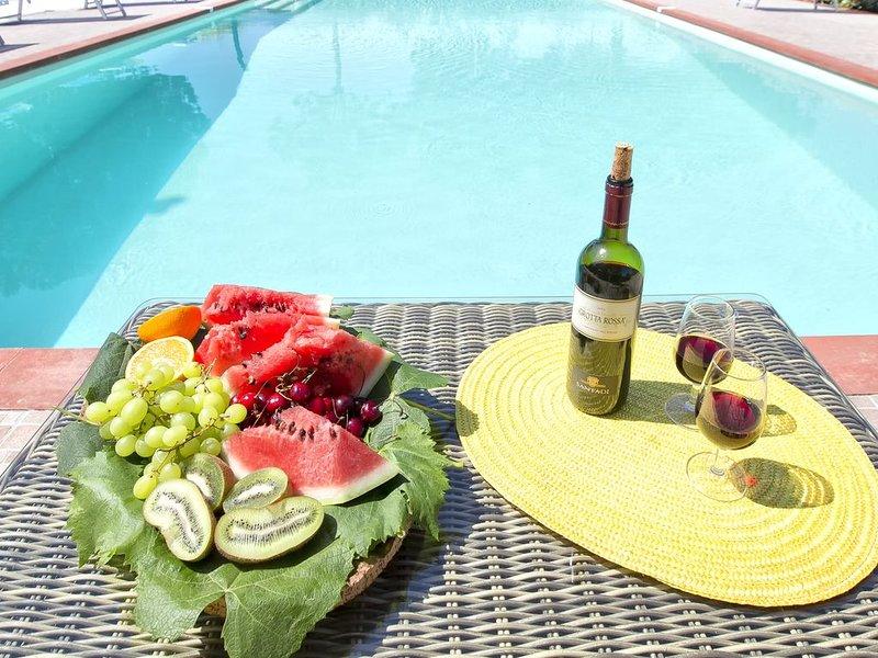 Alghero Villa Don Carlos per 14 persone, casa vacanza a Villanova Monteleone