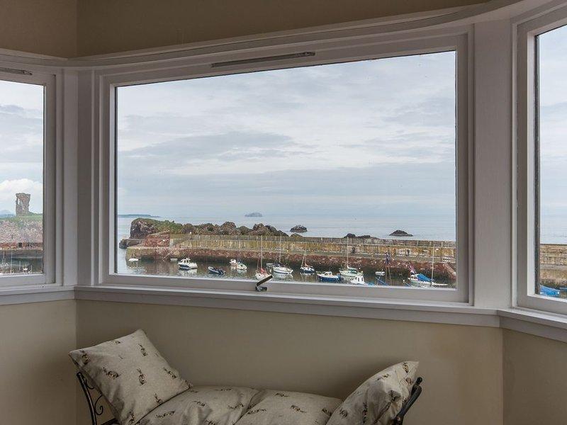 Spacious Apartment in Stunning Coastal Location, East Lothian, Scotland, holiday rental in Dunbar