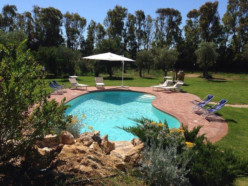 'Villa Oigar': tutta nuova, fresca e accogliente, vicino alle spiagge più belle, holiday rental in Olmedo