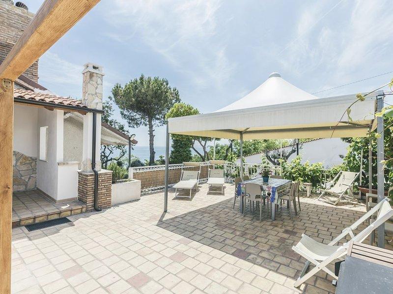 app. 1 Villa Osca una vista sul mare e trabocchi, holiday abruzzo, vacation rental in Province of Chieti