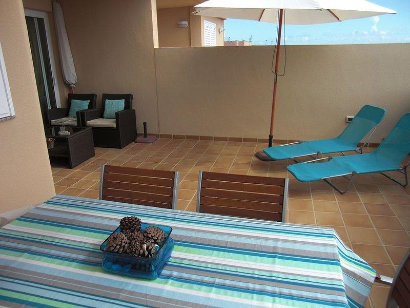 Sun terrace. Outdoor dining room