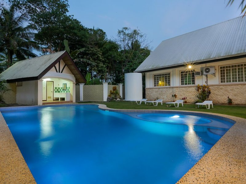 Newly built private swimming pool