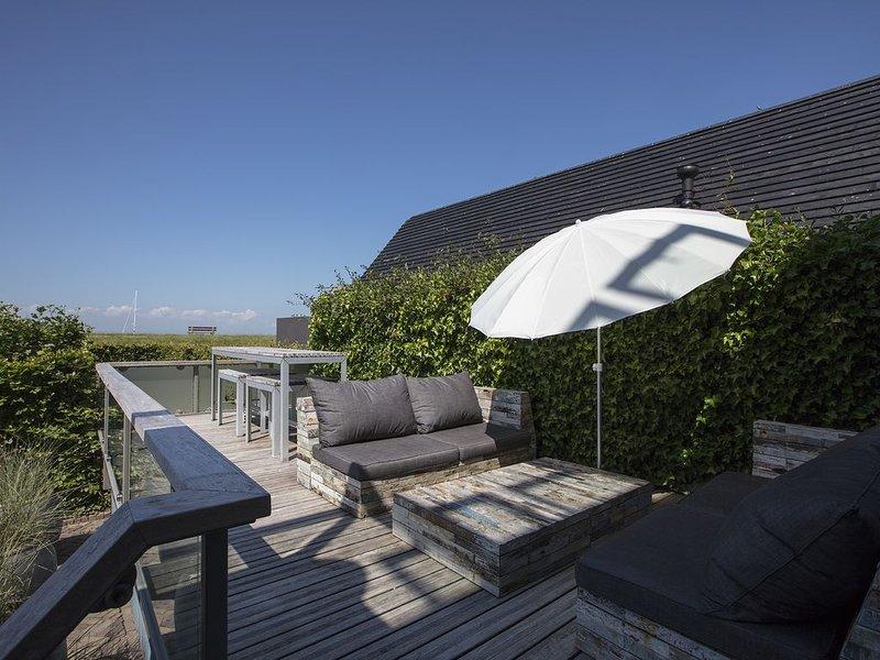 Terraza con vistas a IJsselmeer + cena mesa de almuerzo con vista