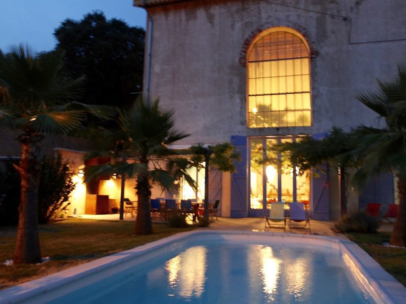 La Thezanaise, private luxury house,inspiring, great architectural details, holiday rental in Pailhes