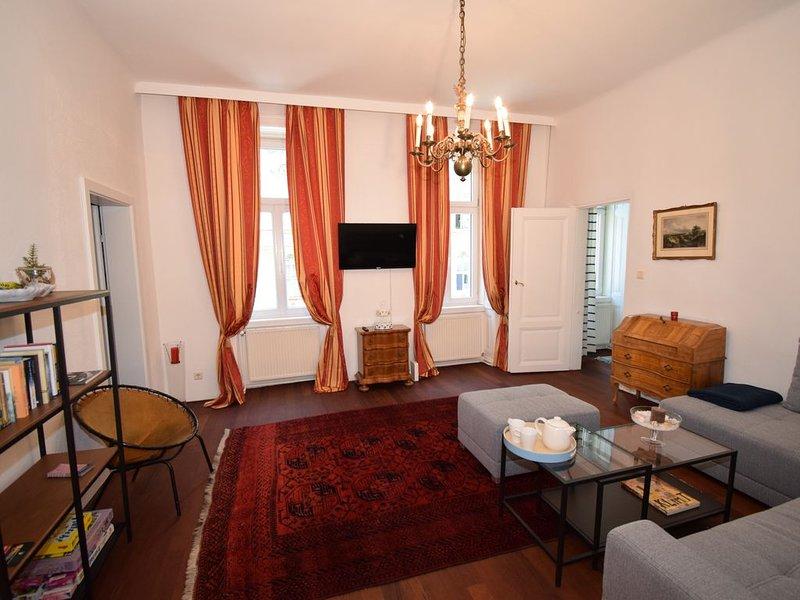 Neue große 3-Zimmer-Luxus-Familien-Wohung, holiday rental in Vienna