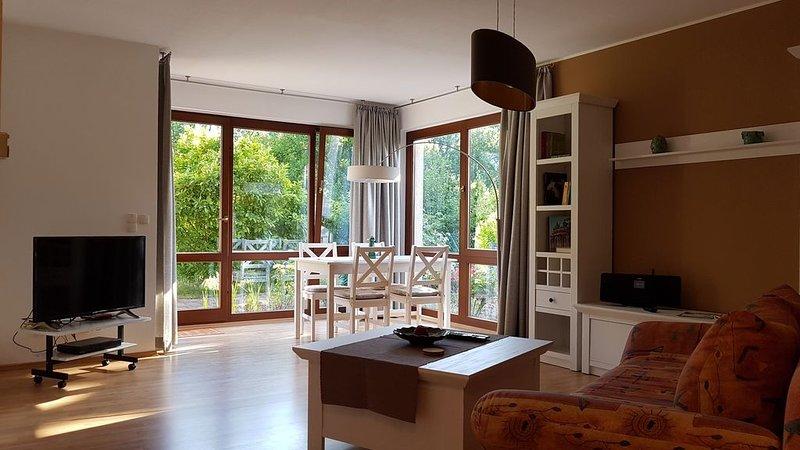Traumzeit - Komfortable Ferienwohnung für 2+2 Personen, location de vacances à Havelsee