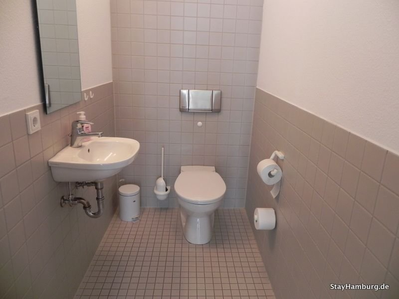 Additional guest toilet