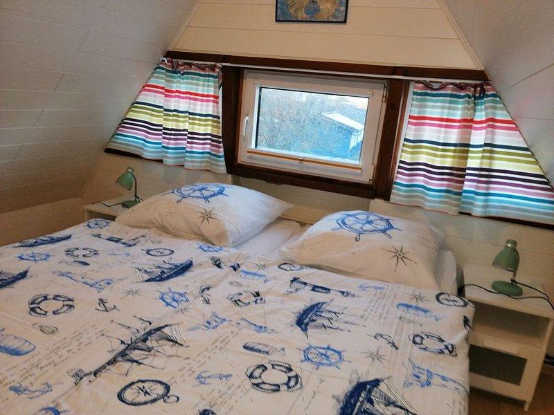 Gemütl. Ferienhaus  55qm Wohnfläche  bis 4 Personen , Strandnähe ,PKW-Stellplatz, casa vacanza a Duhnen