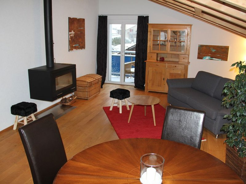 See und Alpen Appartement bei T&M, vacation rental in Gsteigwiler