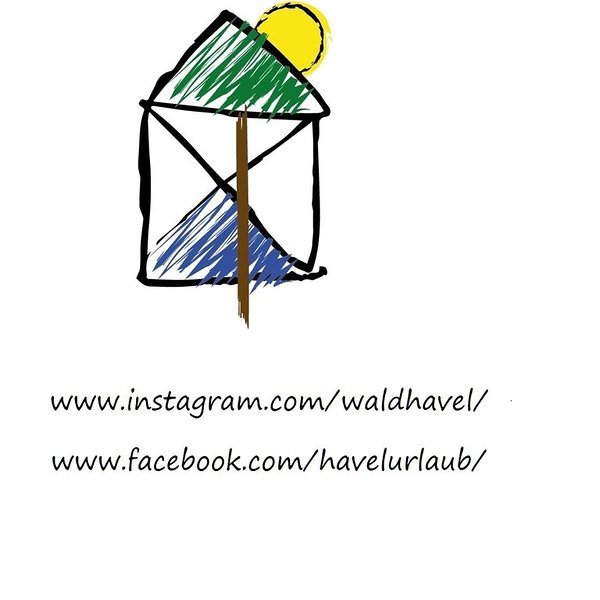 "Logo cottage ""Waldhavel""."
