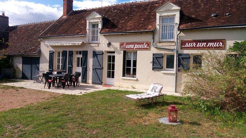 GITE DES PETITES POULES ROUSSES 9 pers Zoo Beauval & châteaux de la Loire, location de vacances à Oisly