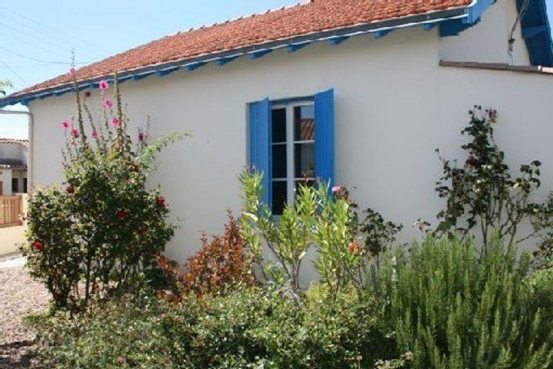 Villa Chatelaillon-Plage, Avec Jardin - 450m Plage, holiday rental in Saint Vivien