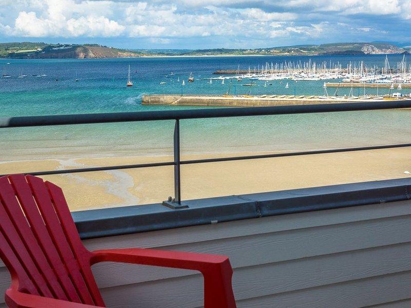 Vue mer, appartement pour 4 personnes, wifi gratuit – semesterbostad i Crozon