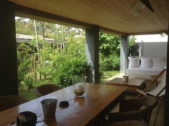 Appartement terrasse couverte – Presqu'île Cap Ferret, Piraillan avec jardin, holiday rental in Lege-Cap-Ferret