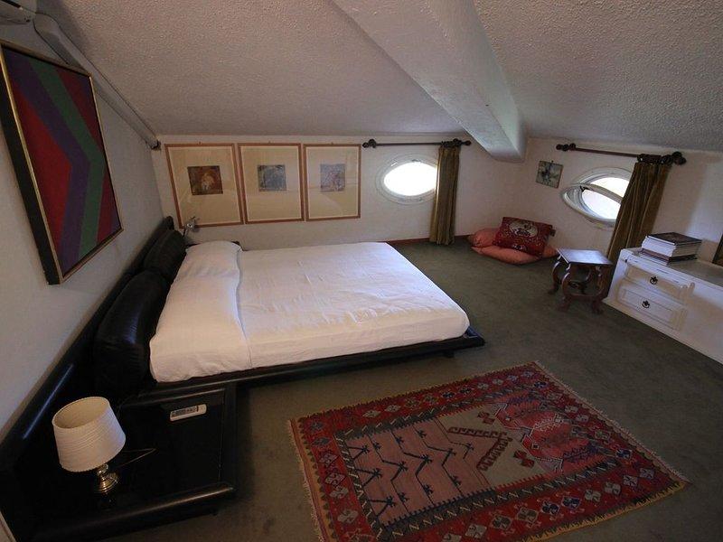 mansard double bedroom