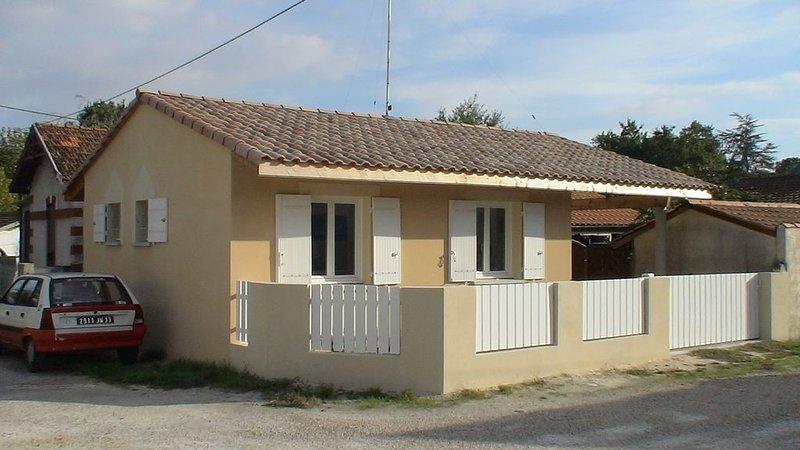 Villa sur le bassin d'Arcachon, location de vacances à Claouey