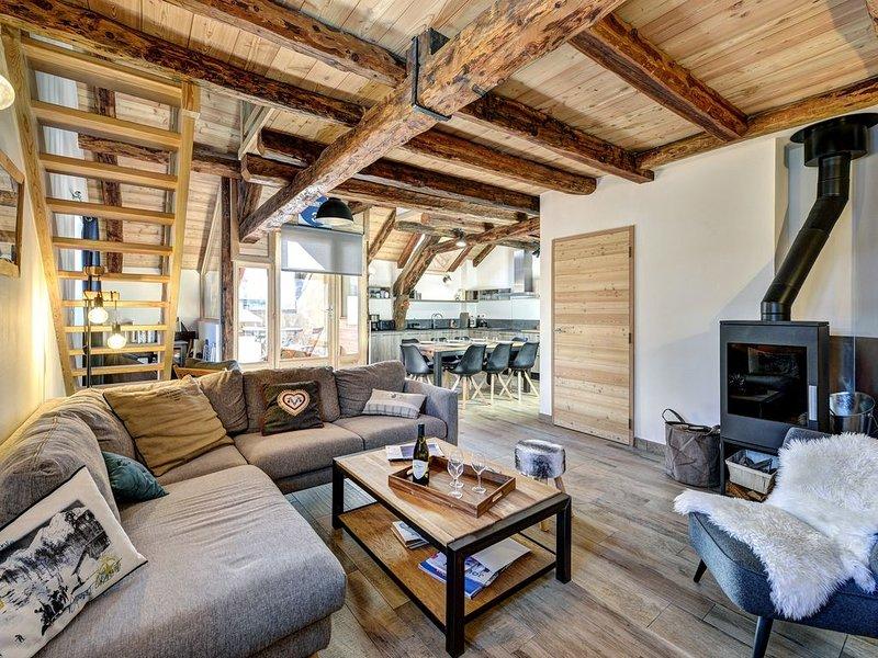 Appartement chalet centre Monetier les Bains, holiday rental in Le Monetier-les-Bains