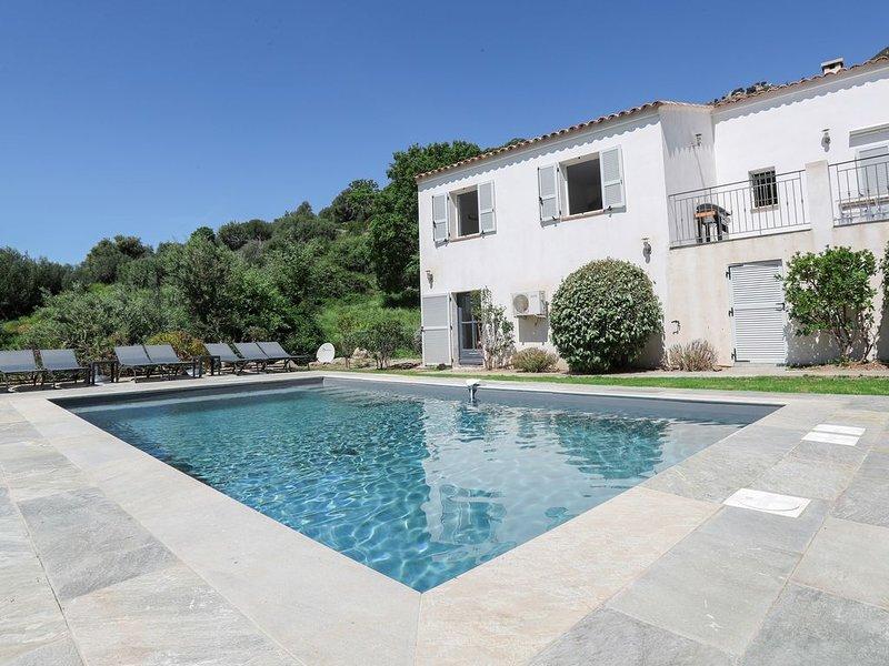 Villa de charme à 18 min de Calvi, location de vacances à Zilia
