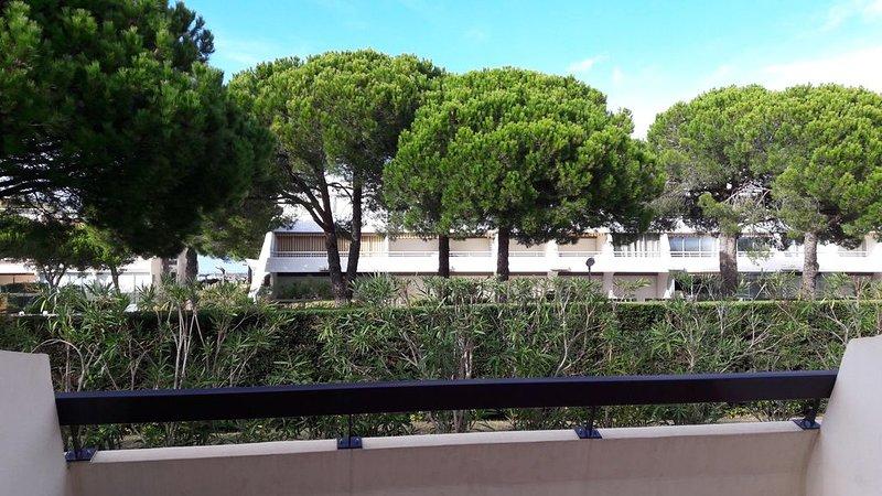 Appartement terrasse Grau du Roi, alquiler vacacional en Le Grau-du-Roi