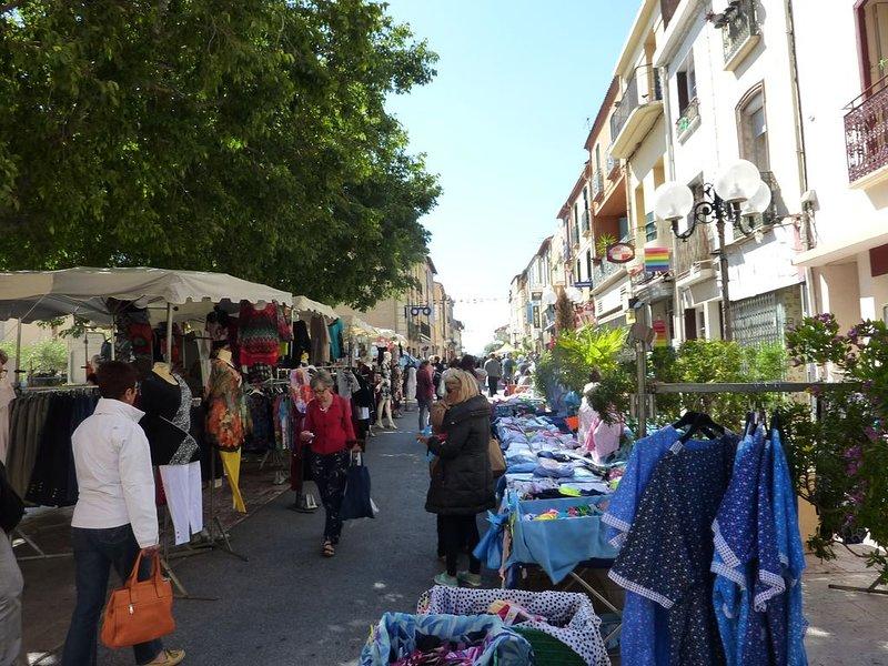 A dix minutes de la plage , dans le centre historique d'un village Catalan, holiday rental in Ortaffa