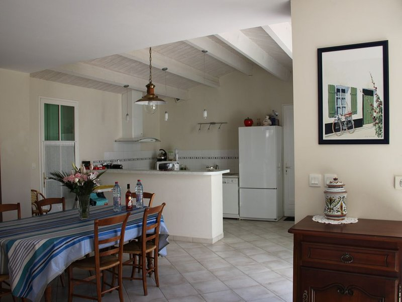 Villa Retaise 4 étoiles, holiday rental in La Flotte
