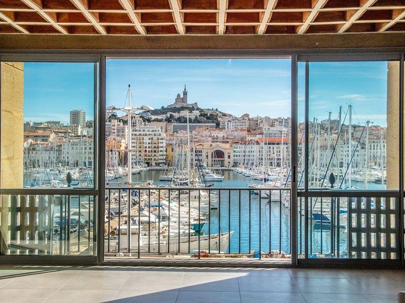 Appartement sublime sur le Vieux Port, alquiler vacacional en Marsella