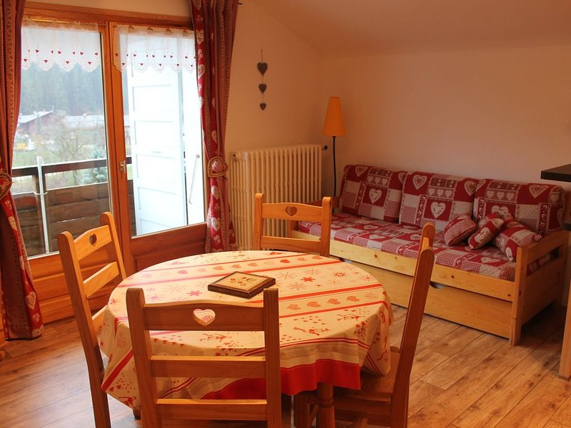 AGREABLE DEUX PIECES AU CENTRE DU VILLAGE, alquiler de vacaciones en Le Grand-Bornand