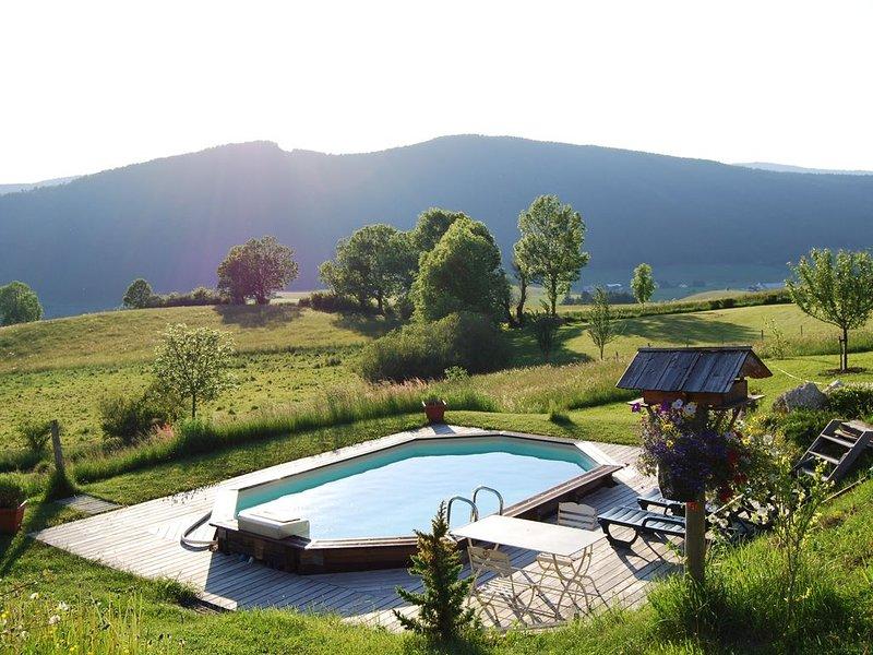 SUPERBE CHALET 14/15 PERSONNES AVEC PISCINE PRIVEE A VILLARD DE LANS, location de vacances à Villard-de-Lans