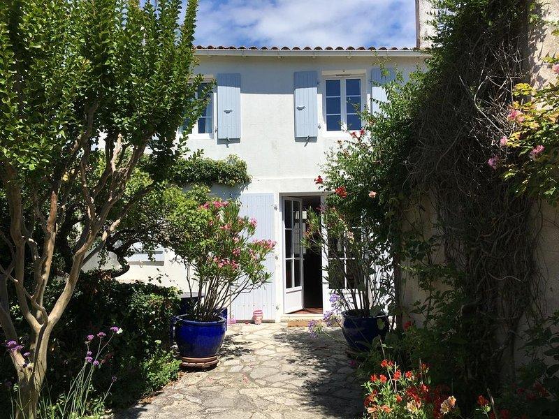 Location maison de charme à l'Ile de Ré (Saint-Clément-des-Baleines), holiday rental in Saint Clement des Baleines