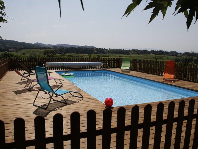 Villa au cœur du vignoble, holiday rental in Vacqueyras