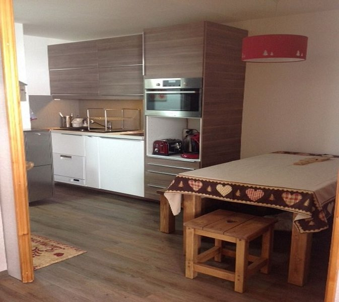 Les Coches / Plagne Tarentaise centre station appartement tout confort 4/5 pers, vacation rental in Les Coches