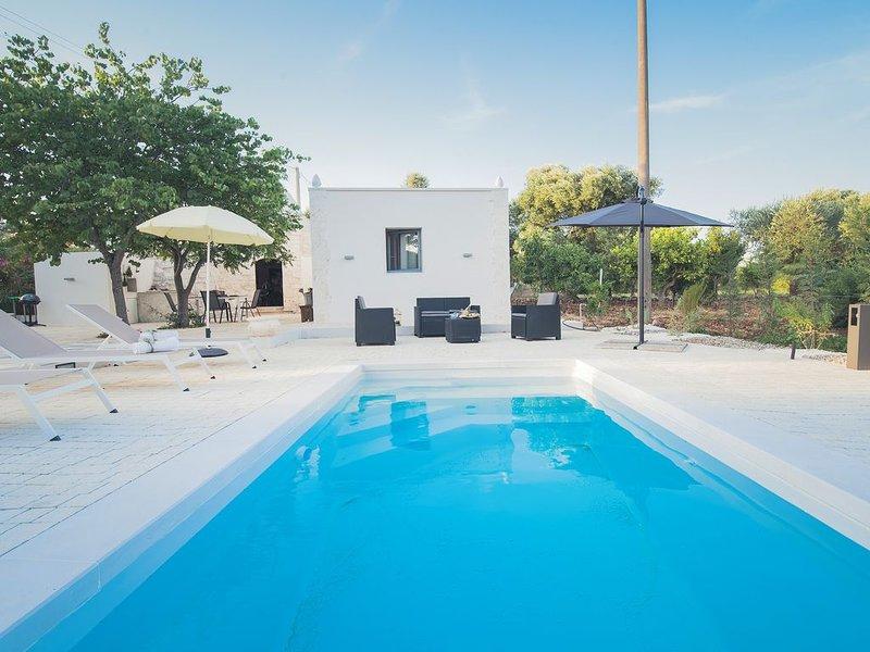 Trulletto Magico : trullo authentico avec piscine en pleine nature, casa vacanza a Costa Merlata