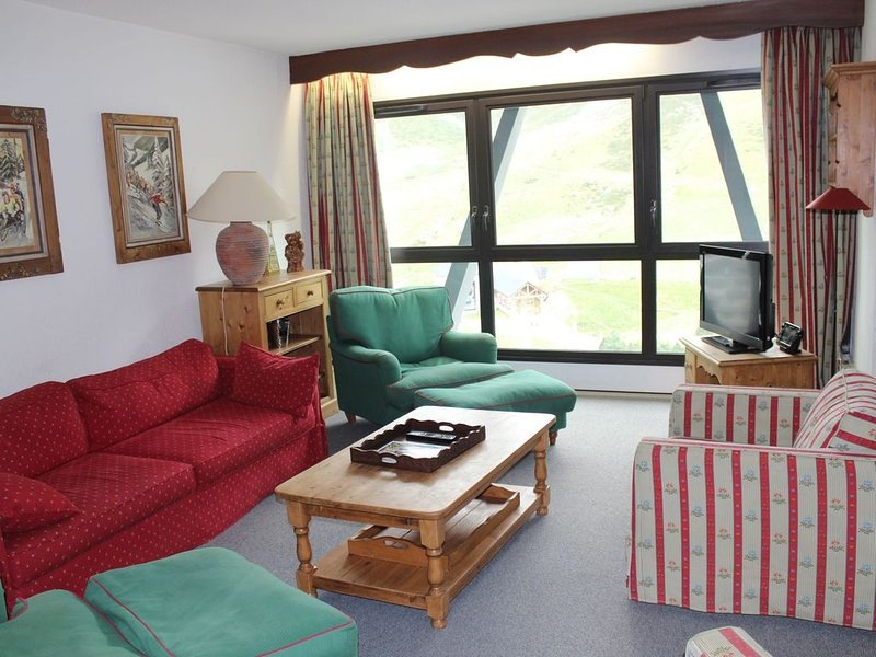 La Mongie, Appartement 100 m2, centre station, vacation rental in La Mongie